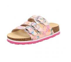 Dívčí pantofle Superfit 0-600120-5500 Dětské pantofle