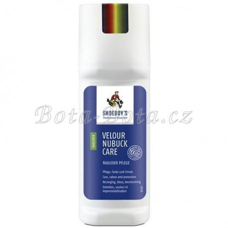 Impregnace a výživa s oživením barev, SHOEBOY´S VELOURS NUBUCK ,lahvička 75 ml - neutrál - bezbarvá 0600310
