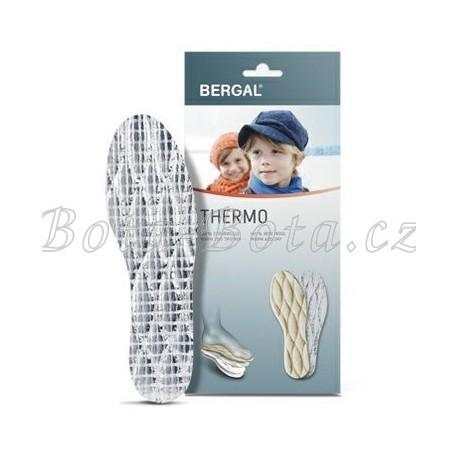 Dětské vložky do bot BERGAL THERMO, pravá vlna