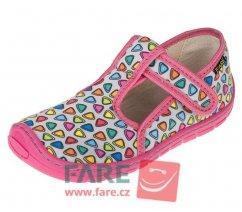 Dětské barefoot přezuvky Fare 5102461