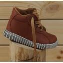 Dětské celoroční boty Pegres 1095 hnědá
