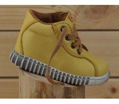 Dětské celoroční boty Pegres 1095 žlutá
