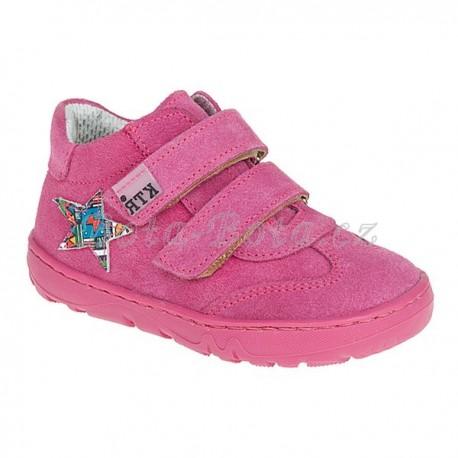 Dětská celoroční obuv KTR 190/1 růžová