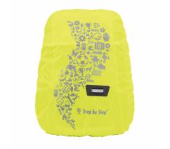 Pláštěnka pro dětský batoh, žlutá