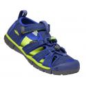 Dětské sandály Keen 1022993 SEACAMP II CNX Y-BLUE DEPTHS/CHARTEUSE