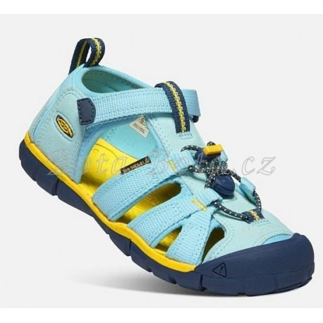 Dětské sandály Keen 1022942 SEACAMP II CNX C-PETITFOUR/KEEN YELOW