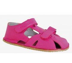 Dětské barefoot sandále Protetika ZERO FUXIA