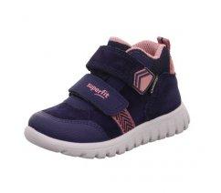 Dětská celoroční obuv Superfit 1-009199-8010 SPORT7 MINI