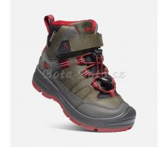 Keen 1023885 REDWOOD MID WP C-STEL GRE/RED DAH, US 11