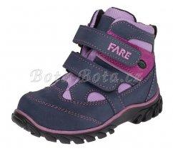Dětská celoroční obuv FARE 826253, s membránou
