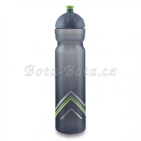 Zdravá lahev BIKE Hory zelená 1l