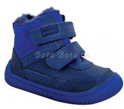 Dětské barefoot zimní boty Protetika TYREL Blue