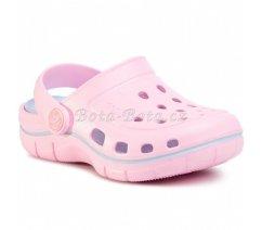 Dětské kroksy Coqui JUMPER 6353-100-3840 Pink Cand Blue