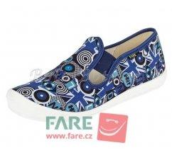 Dětské papuče na gumičku Fare 4211409