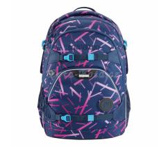 Školní batoh coocazoo ScaleRale, Cyber Pink, certifikát AGR,129771