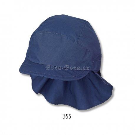 Sterntaler 1531430 Plátěná čepice, UV filtr, ochrana na krku