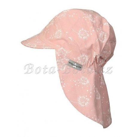 Sterntaler 1422122 Plátěná čepice, UV filtr, ochrana na krku