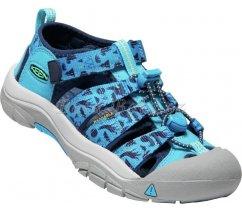 Dětské sandále Keen NEWPORT H2 Y VIVID BLUE/KATYDID, 1025076