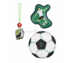 Doplňková sada obrázků MAGIC MAGS Fotbal k aktovkám GRADE, SPACE, CLOUD, 2v1 a KID