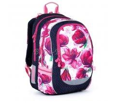 Školní batoh s magnoliemi Topgal CODA 21009 G