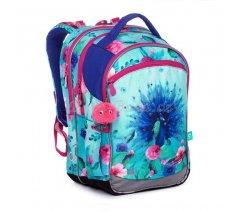 Školní batoh s pávem Topgal COCO 20003 G