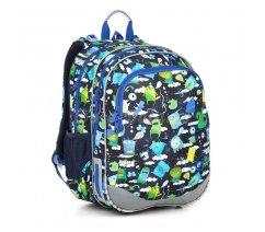 Školní batoh s příšerkami Topgal ELLY 18002 B
