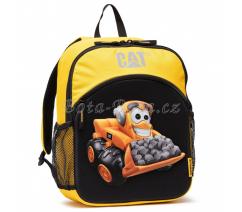 CAT dětský batoh, barva černá/žlutá