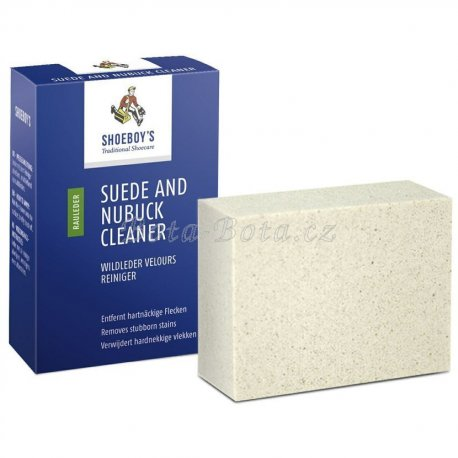 SUEDE AND NUBUCK CLEANER kostka na čištění pískovec