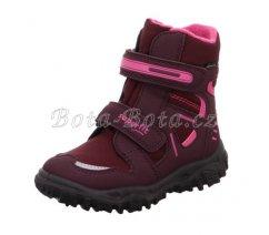 Dětská zimní obuv Superfit1-809080-5000 HUSKY,ROT/ROSA