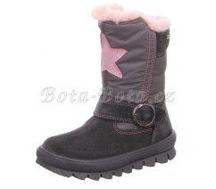 Dětská zimní obuv Superfit 1-009215-2000 FLAVIA,GRAU