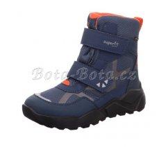 Dětská zimní obuv Superfit 1-000404-8010 Rocket,BLAU/ORANGE