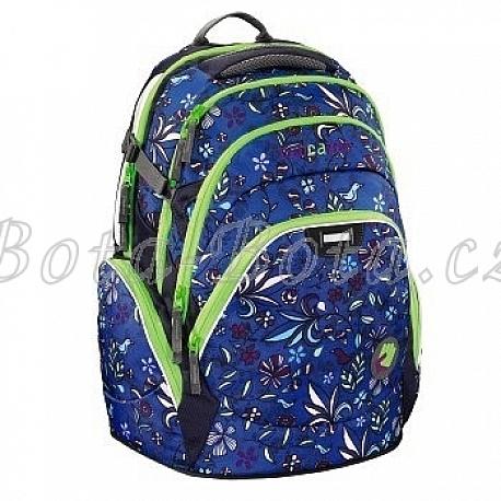 Školní batoh Coocazoo JobJobber, Find The Bird Blue 129424