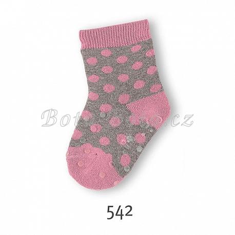 Ponožky, ABS na chodidle i na nártu, Sterntaler