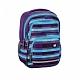 Školní batoh AllOut Blaby, Summer Check Purple 138304