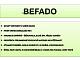 Dětské přezuvky Befado 190P064