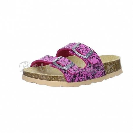 Dětská domácí obuv SuperFit 6-00111-74