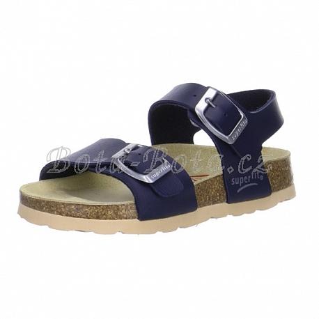 Dětská domácí obuv SuperFit 6-00124-80 - Bota-Bota.cz 0fc0eda779