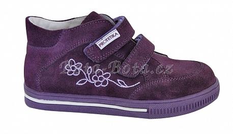 Dětská celoroční obuv PROTETIKA ROKA purple