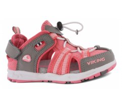 Dětské sandále Viking Loke 3-45870-903 pink grey
